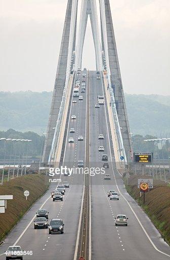 Pont de Normandie, Northern France