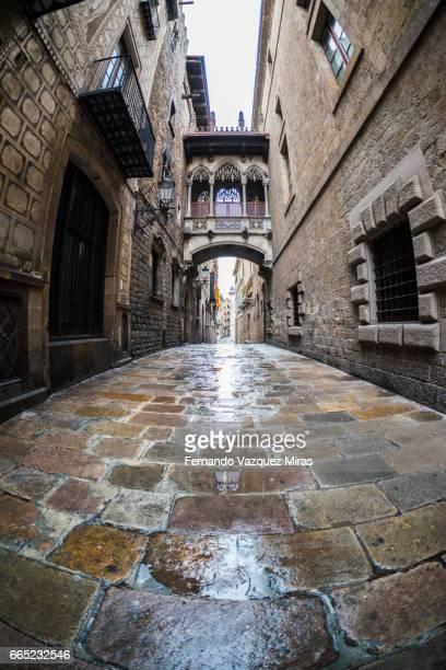 Pont del Bisbe - Carrer del Bisbe, Gothic Quarter, Barcelona