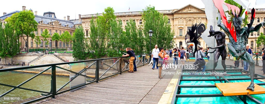 Pont (bridge) des Art : Stockfoto
