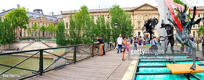 Pont (bridge) des Art : Foto stock
