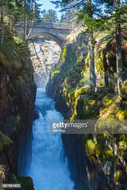 Pont d«Espagne HautesPyrenees department MidiPyrenees region France Europe