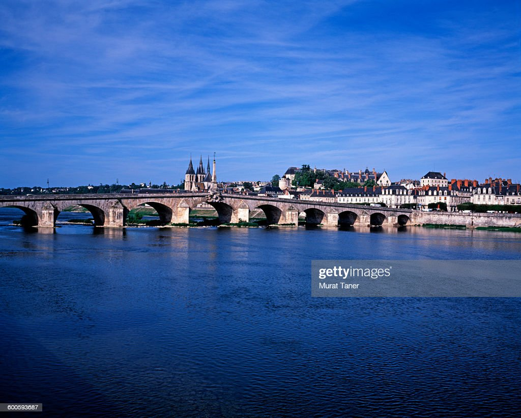 Pont Gabriel and Loire River