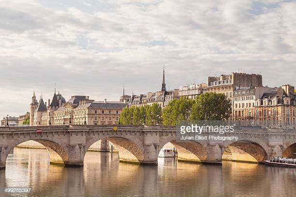 Pont Neuf and the Ile de la Cite, Paris.