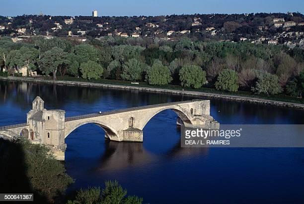 Pont SaintBenezet Avignon ProvenceAlpesCote d'Azur France 12th century