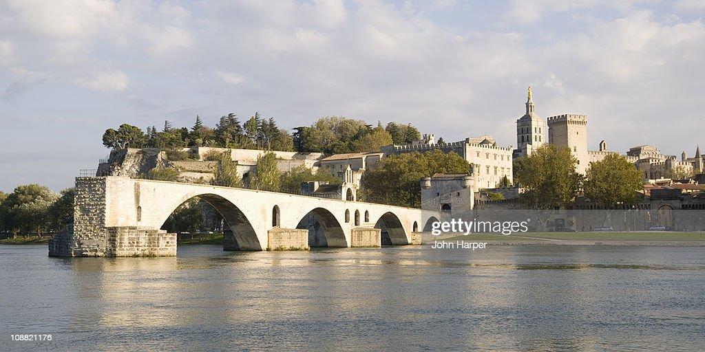Pont St Benezet bridge in Avignon