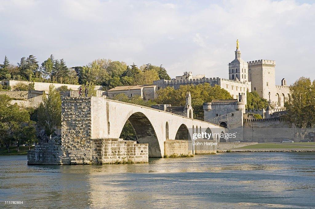 Pont St Benezet over River Rhone, Avignon, Provenc