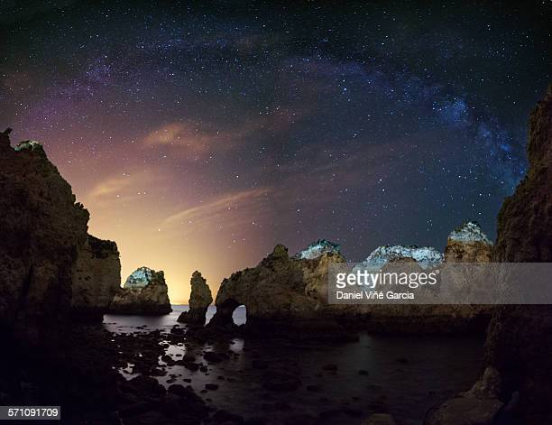 Ponta da Piedade, Algarve, Milky Way