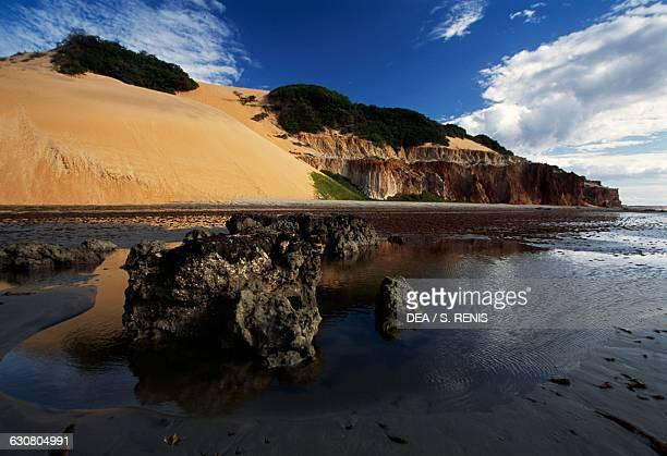 Ponta Grossa promontory near Canoa Quebrada Ceara state Brazil