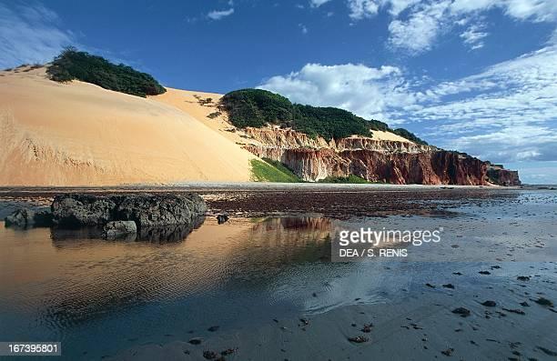 Ponta Grossa promontory near Canoa Quebrada State of Ceara Brazil