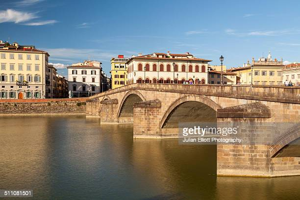 Ponte alla Carraia and the river Arno, Florence