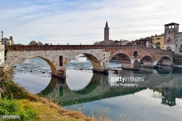 Ponte Pietra - Verona, italy