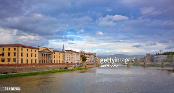 Ponte Santa  over River Arno