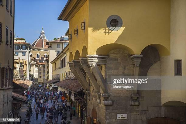Ponte Vecchio and Vasariano Corridor