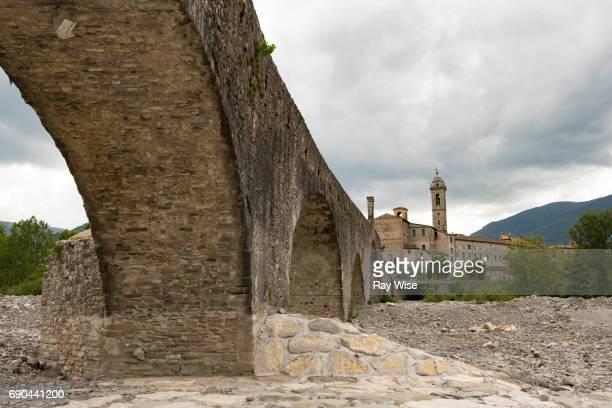 Ponte (Bridge) Vecchio - Bobbio, Province of Piacenza, Italy.