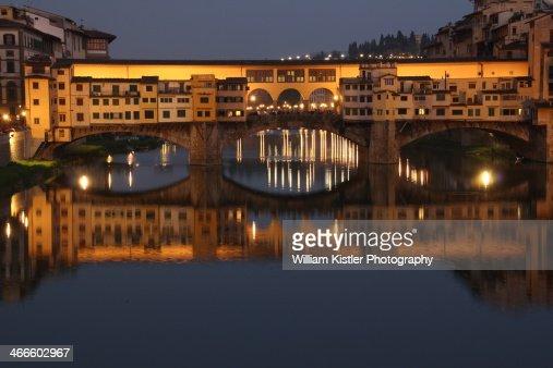 Ponte Vecchio, Florence Blue Hour