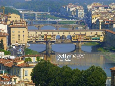 Ponte Vecchio, Florence : Foto de stock