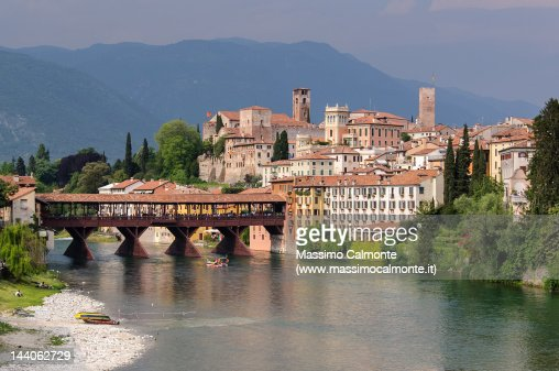 Ponte vecchio in bassano del grappa stock photo getty images - Cucine bassano del grappa ...
