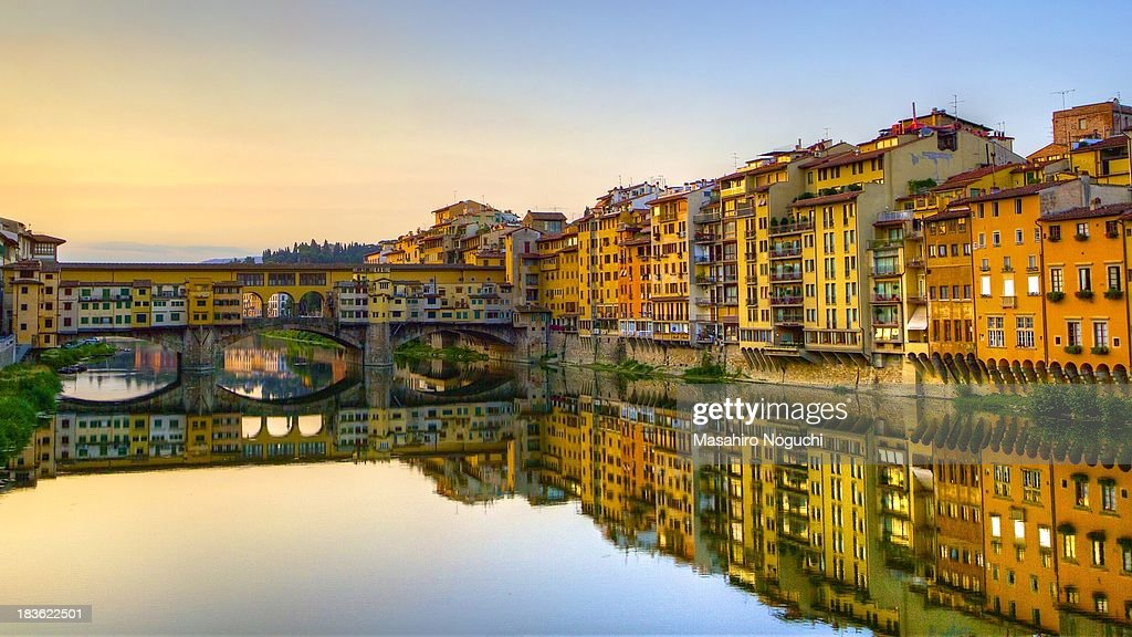 Ponte Vecchio in early morning