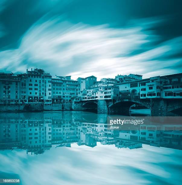 Ponte vecchio in Florenz, Italien