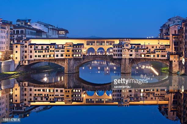 Ponte Vecchio reflection