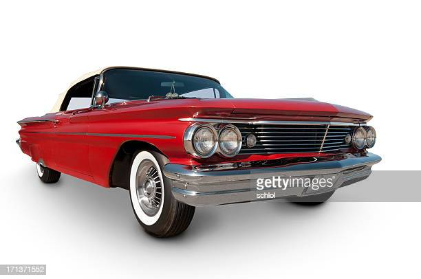 Pontiac Catalina 1960 with clipping path