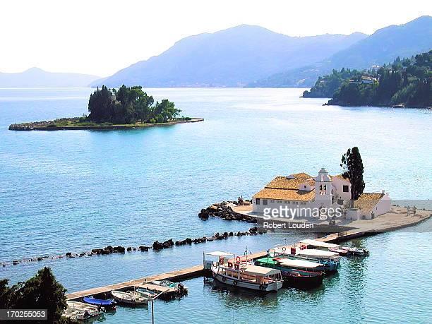 Pontikonissi, Corfu, Kerkyra