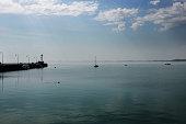 Côte bretonne Manche océan mer port Cancale