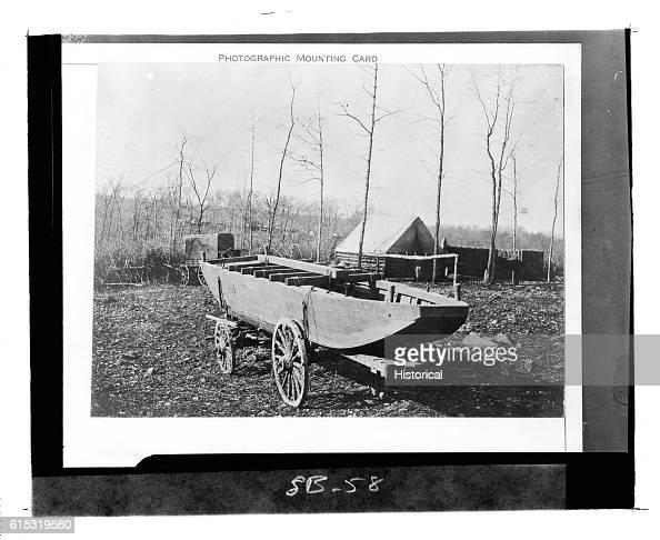 Pontoon Boat Used by Potomac Army