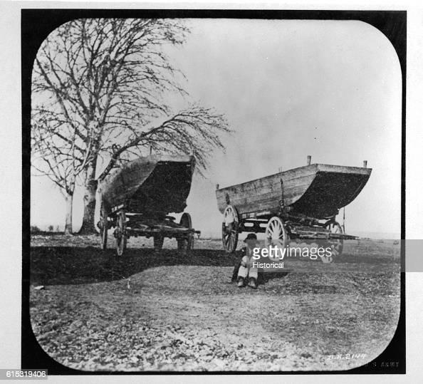 Pontoon Boats on Wagons