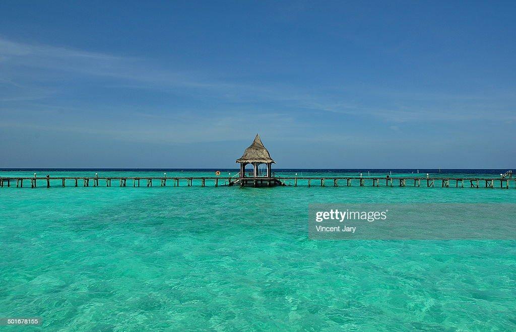 Pontoon Maldives : Photo