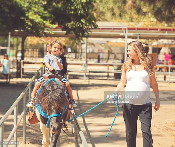 Pony Ride For Little Boy