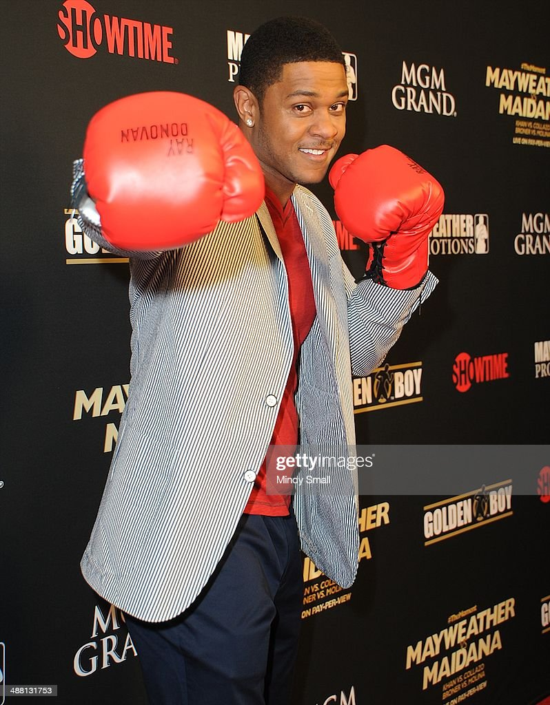 Pooch Hall attends the Mayweather Vs. Maidana Pre-Fight Party Presented By Showtime at MGM Garden Arena on May 3, 2014 in Las Vegas, Nevada.