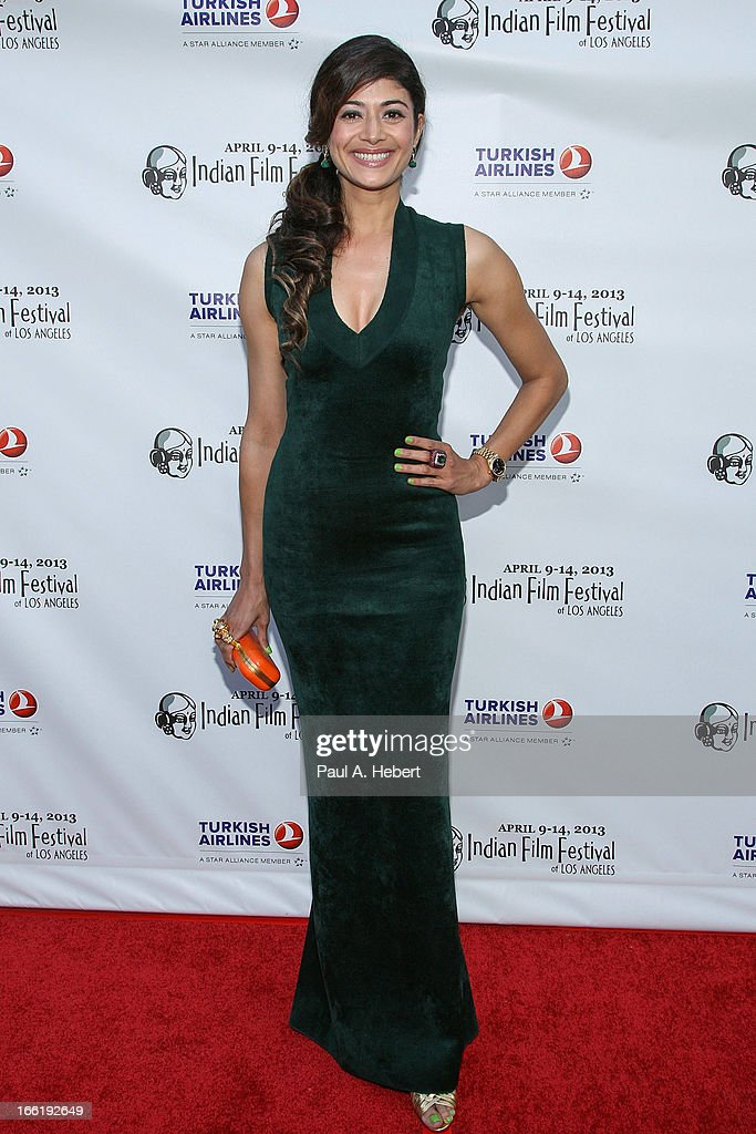 Pooja Batra attends the Indian Film Festival Of Los Angeles (IFFLA) Opening Night Gala For 'Gangs Of Wasseypur' on April 9, 2013 in Hollywood, California.