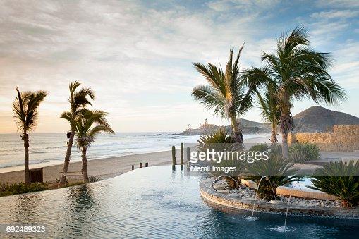 Pool at resort.