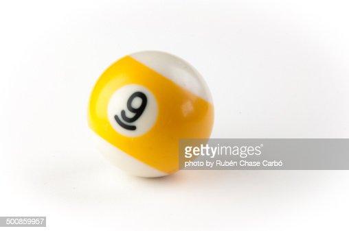 Pool ball 9