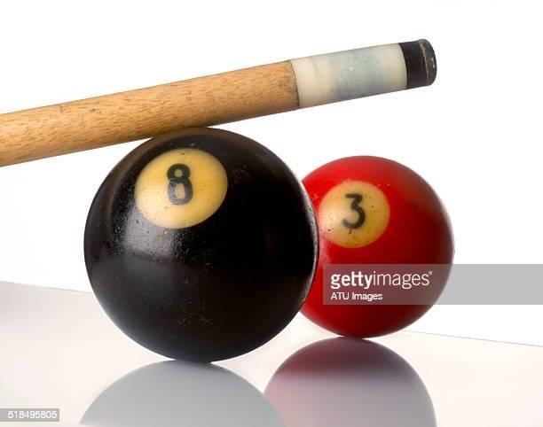 Pool balls cue