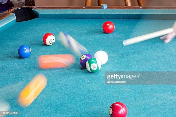 Pool Balls in Motion
