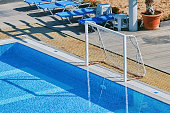 Pool Complex on the Shore of the Black Sea