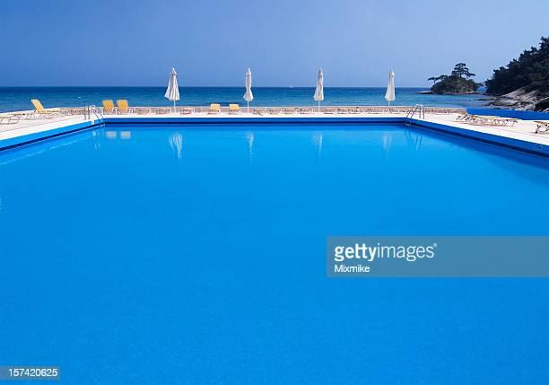 Pool near the Sea