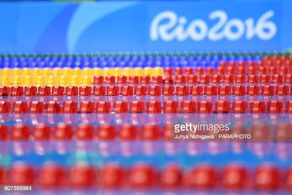 Pool of the Rio 2016 Paralympic Games at Olympic Aquatics Stadium on September 17 2016 in Rio de Janeiro Brazil