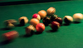 Pool playing at James Joyce Irish Pub in Mauspfad old part of town Bonn Germany 08 September 2014 Bonn that offers many touristic attractions was...