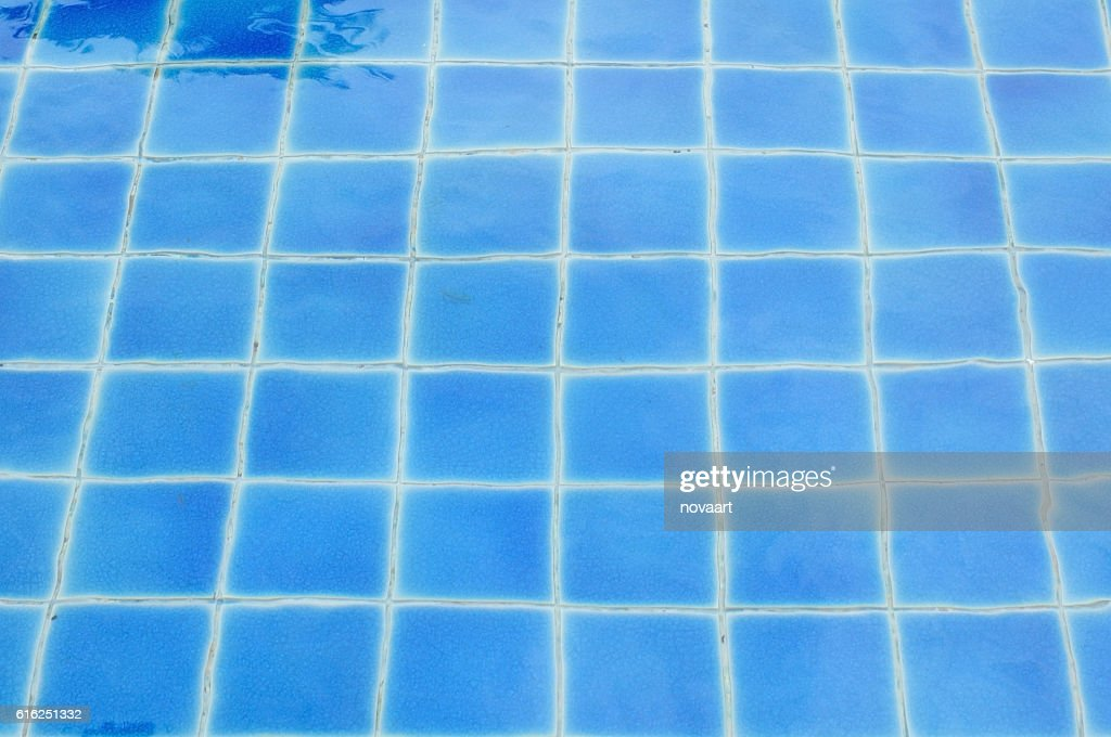 Pool surface water from above, sunny day : Foto de stock
