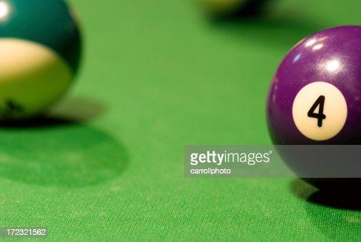 Pool Table - 4 Ball