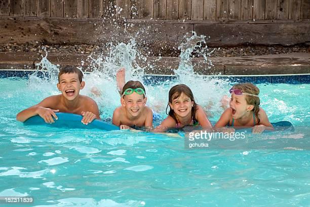 Zeit am Pool