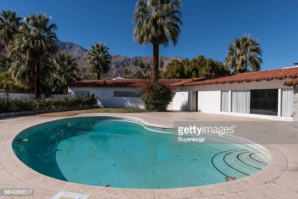 Palm springs california foto e immagini stock getty images for Thunderbird golf course palm springs