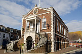 The historic Guildhall in Poole, Dorset.  Now used as the local authority's Register Office.