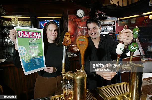 OSCAR pools at the Duke of GloucesterThis bar has a lot of regulars that take part in the annual contest It's been going on for eight years The two...