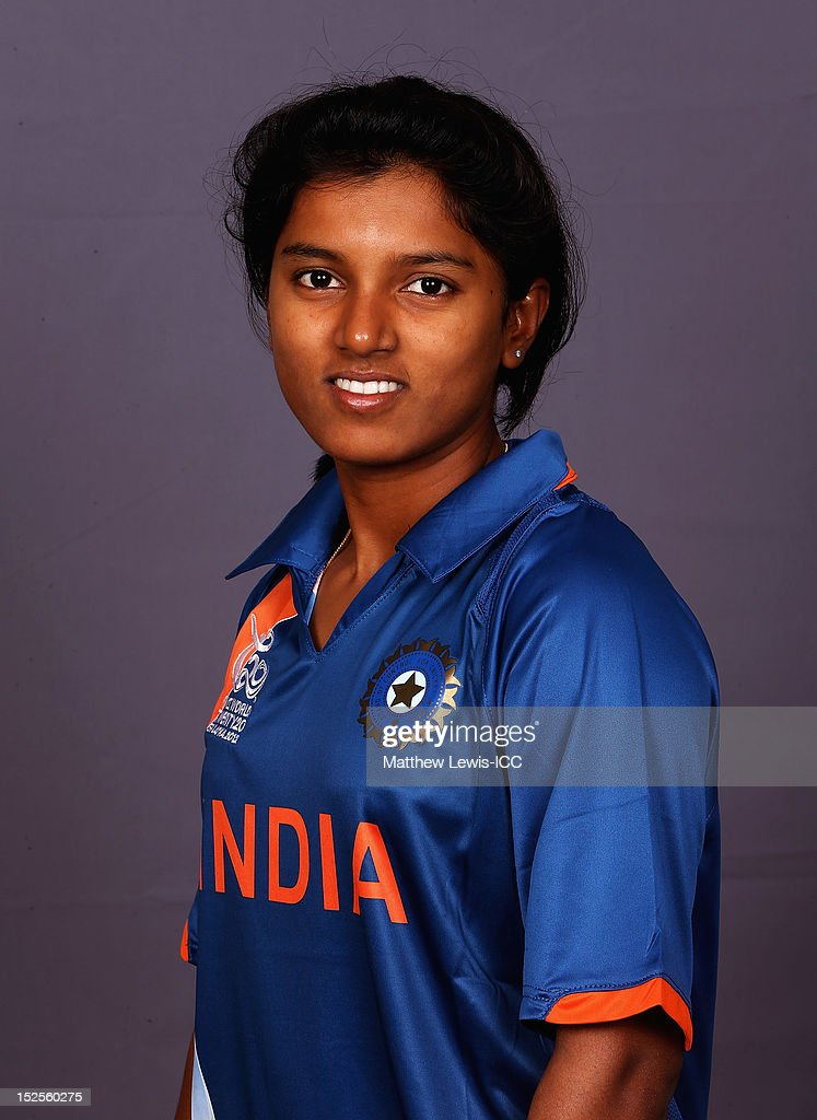 Poonam Raut of India Womens Cricket Team poses for a portrait ahead of the Womens ICC World T20 at the Galadari Hotel on September 22, 2012 in Colombo, Sri Lanka.