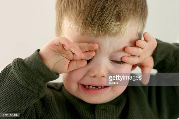 Poor Baby Series: Temper tantrum.