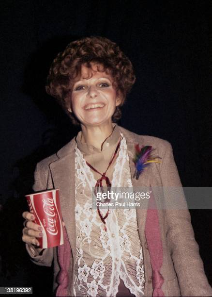 Pop and Country singer Brenda Lee backstage at the Country Music Festival on April 6 1980 in Wembley London England